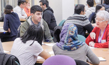An alumni event in the Faculty of Biology, Medicine and Health, The University of Manchester