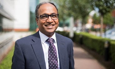 Mahesh Nirmalan, Vice Dean for Social Responsibility, Faculty of Biology, Medicine and Health at The University of Manchester