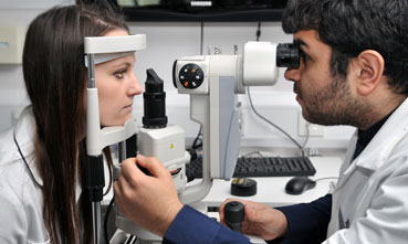Optometry student at the University of Manchester
