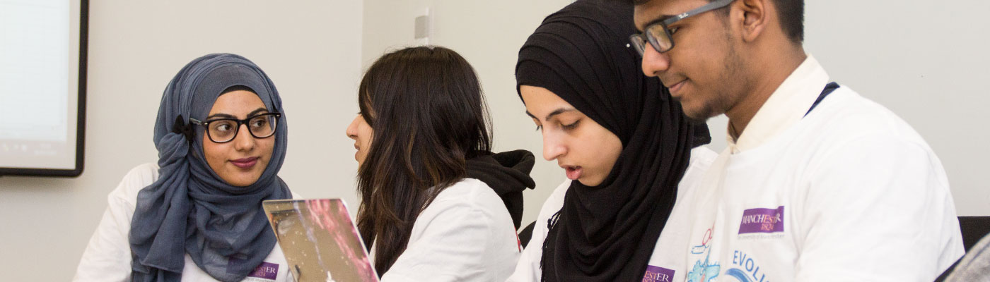Undergraduate biomedical students at the University of Manchester