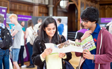 An Open Day at The University of Manchester.